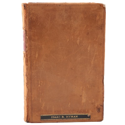 "First Edition ""Studies in the Civil Law"" by William Wirt Howe, 1896"