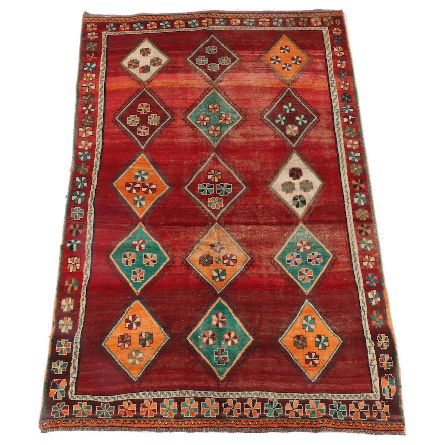 5'10 x 9'7 Hand-Knotted Caucasian Shirvan Wool Rug