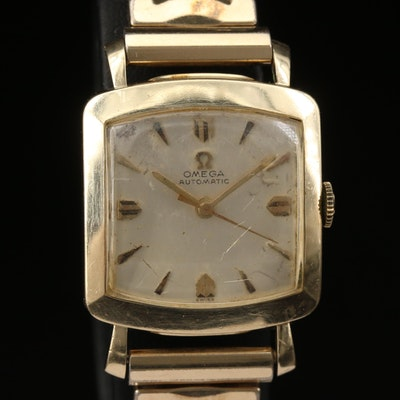 1954 Omega C-6271 14K Gold Filled Automatic Wristwatch