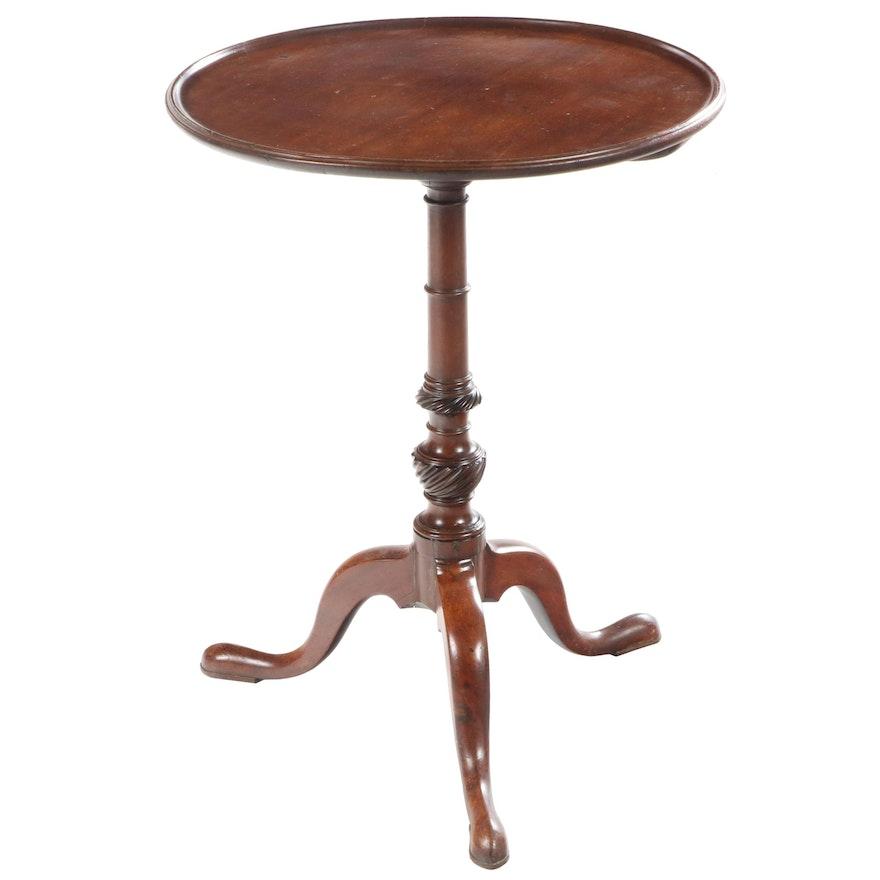 George III Mahogany Tripod Table, circa 1800