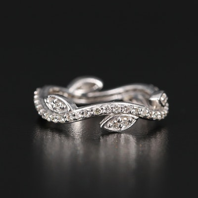 14K Diamond Vine Band