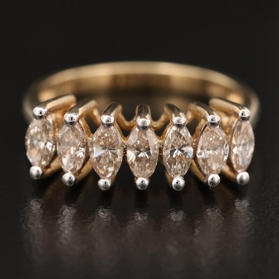 10K 1.01 CTW Diamond Ring