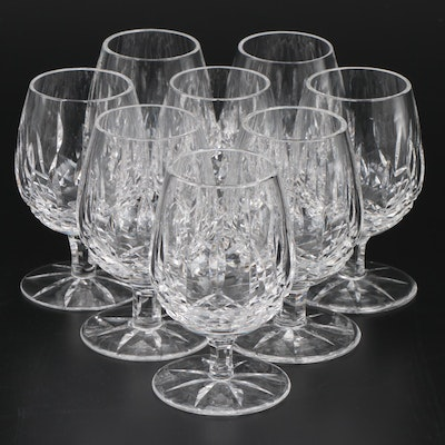 "Waterford ""Lismore"" Crystal Brandy Glasses, Set of Eight"