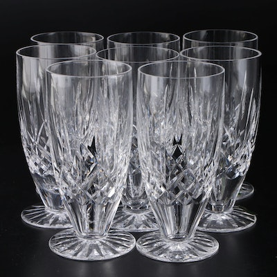 "Waterford ""Lismore"" Crystal Iced Tea Glasses, Set of Eight"