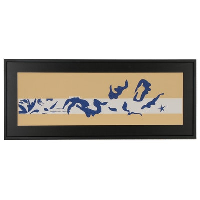 "Serigraph after Henri Matisse ""La Piscine,"" 1995"