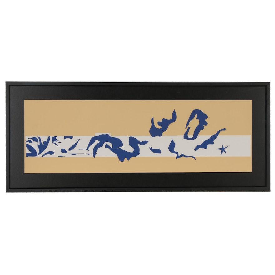 """Serigraph after Henri Matisse """"La Piscine,"""" 1995"""