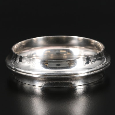 Georg Jensen Sterling Silver Carinated Bangle
