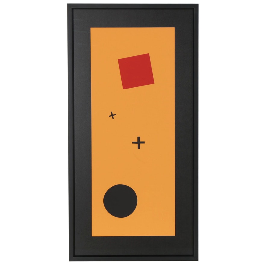 "Serigraph after Kazimir Malevich ""Suprematismo"""