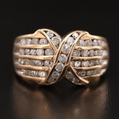 10K 1.17 CTW Diamond Ring