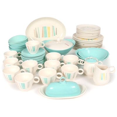 "Metlox ""Anytime/Poppytrail"" Vernon Ware Dinner and Serveware, 1956–1965"
