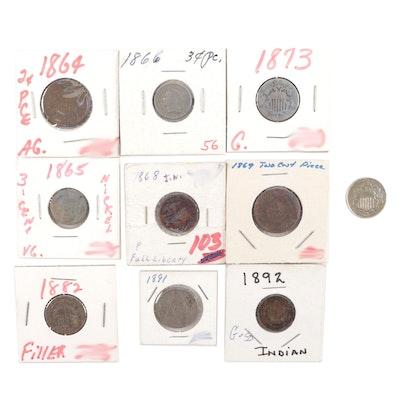 Assortment of 19th Century U.S. Coins