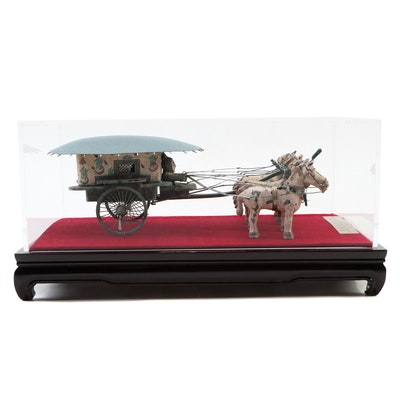 Model of the Bronze Chariot from Emperor Qin Shi Huang's Mausoleum