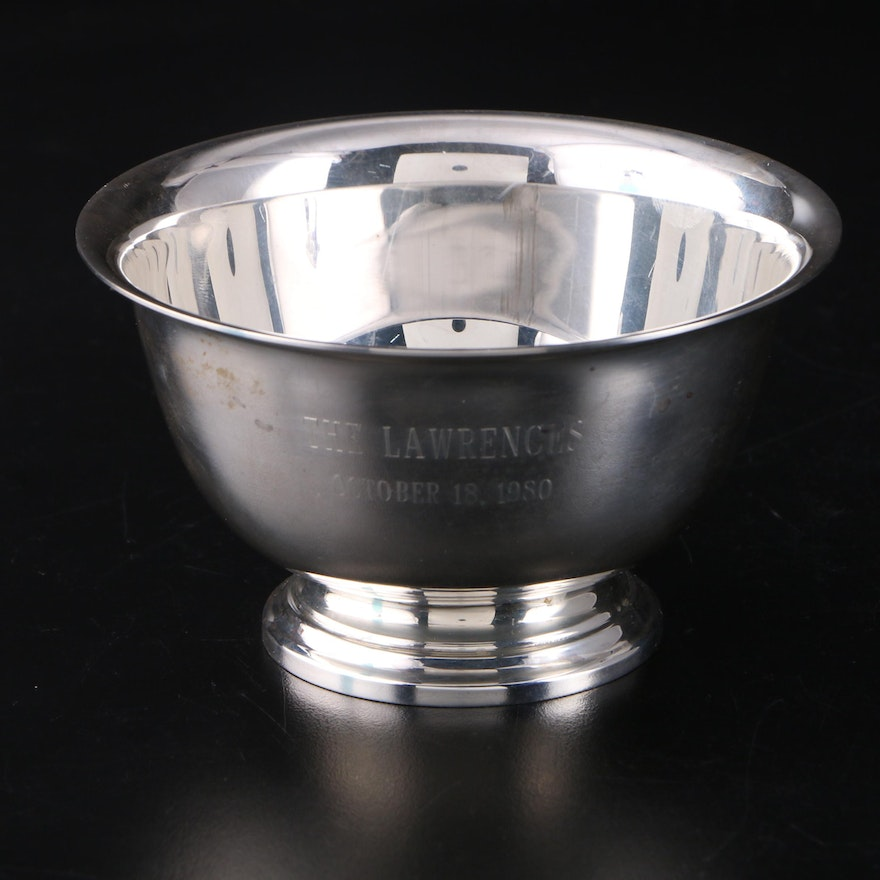 Tiffany & Co. Sterling Silver Paul Revere Bowl, Late 20th Century