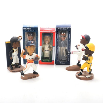 Hand-Painted Limited Edition and Collectible Series Baseball Bobbleheads