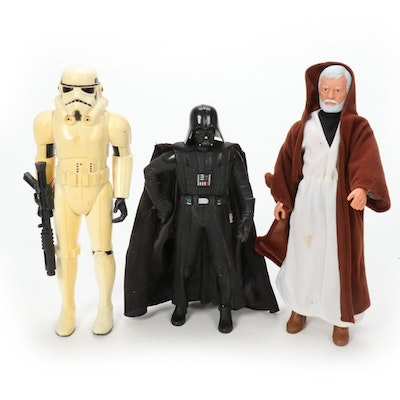 Kenner and Applause Star Wars Action Figures, Late 20th Century