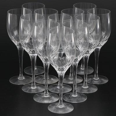 """Orrefors """"Prelude"""" Crystal Goblets"""