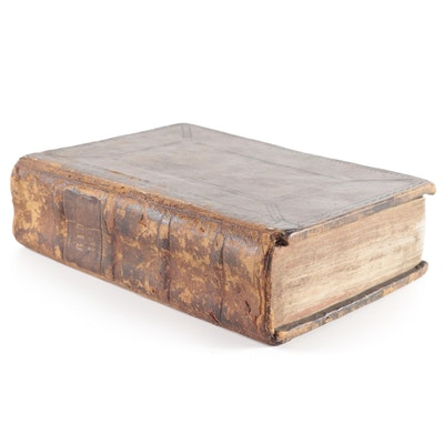 1599 Leather Bound Quarto Geneva Bible
