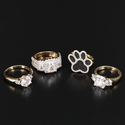 Sterling Silver Assortment of Rings