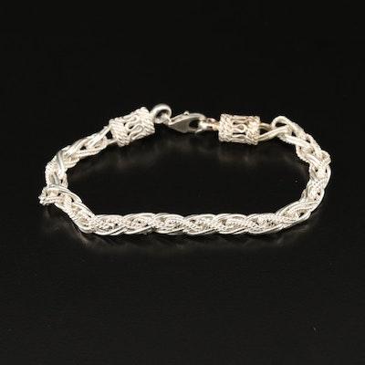 Sterling Scrap Bracelet