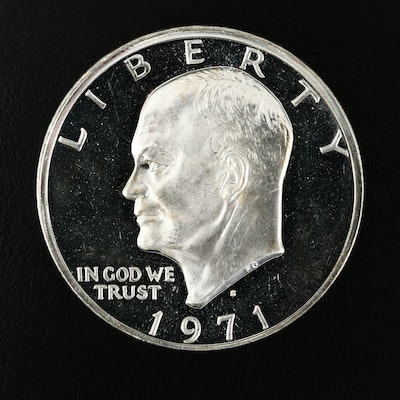1971-S Eisenhower Silver Proof Dollar