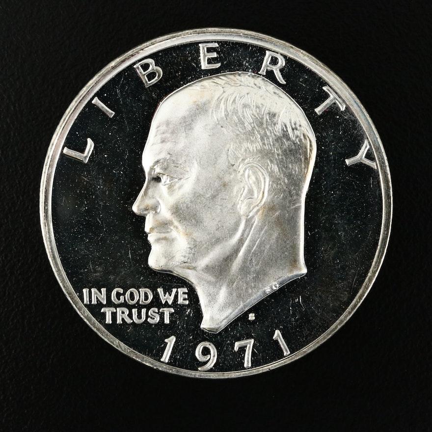 1971-S Eisenhower Silver Proof Dollar