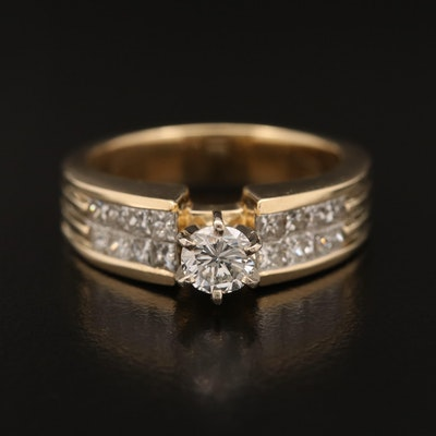 14K 1.27 CTW Diamond Ring