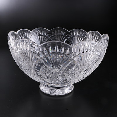 "Waterford ""Seahorse"" Crystal Centerpiece Bowl, 2002–2017"
