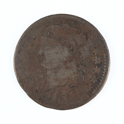 Key Date Low Mintage 1811 Classic Head Half Cent