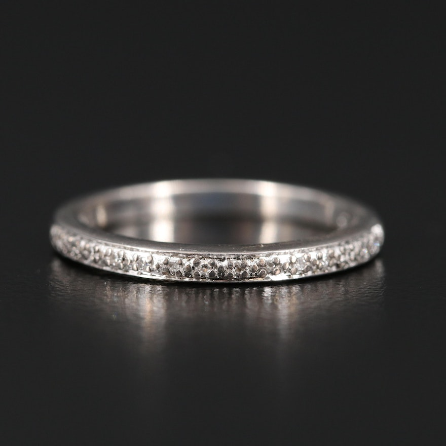 Sterling Diamond Band