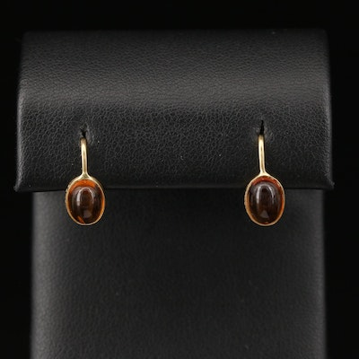 Manfred 18K Citrine Dangle Earrings