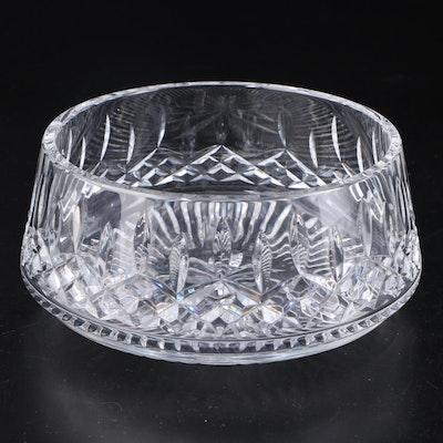 "Waterford ""Lismore"" Round Crystal Serving Bowl"