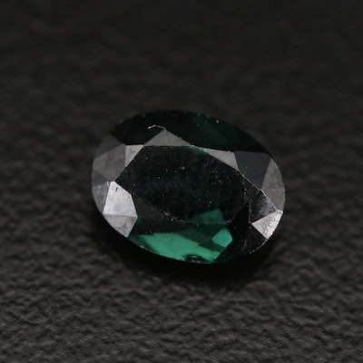 Loose 1.10 CT Oval Faceted Tourmaline