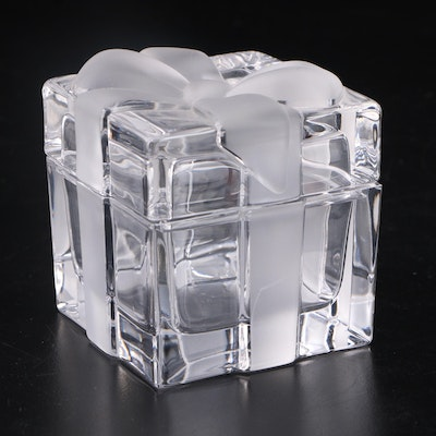 Tiffany & Co. Crystal Gift Trinket Box