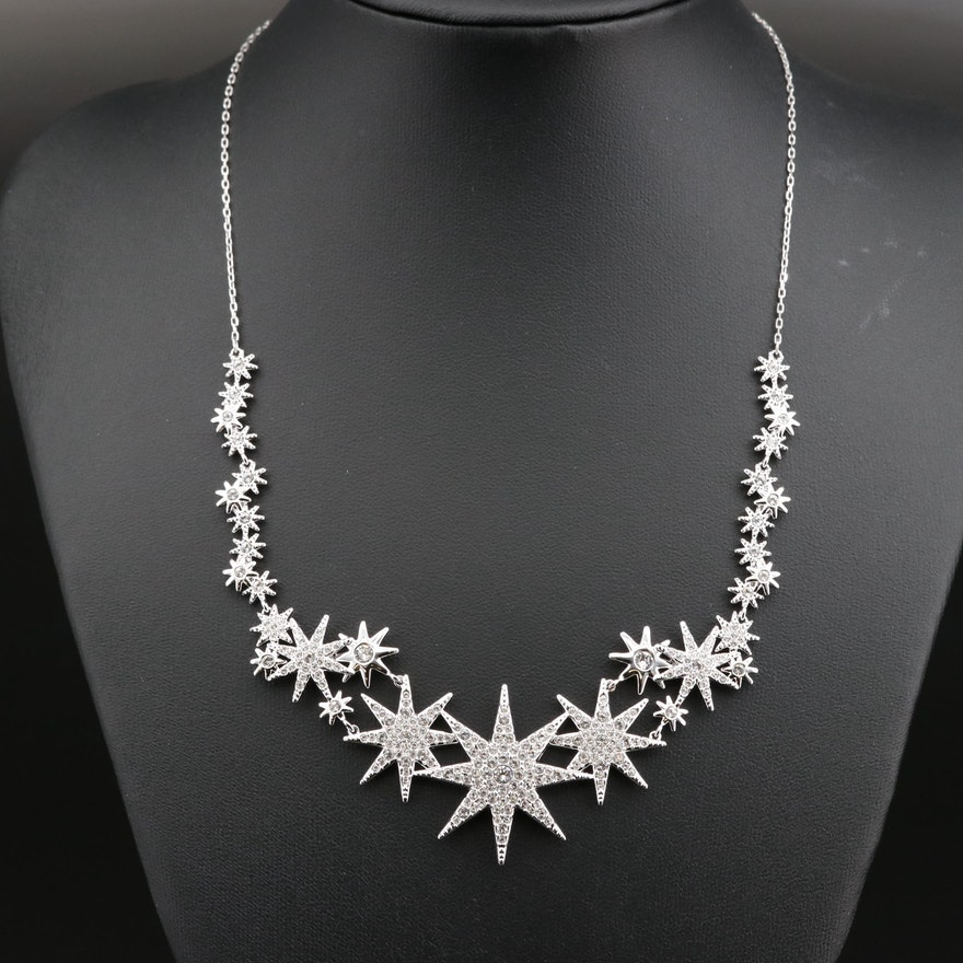 """Swarovski """"Fizzy"""" Crystal Necklace"""