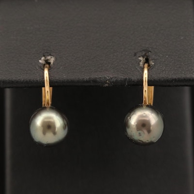 18K Pearl Earrings