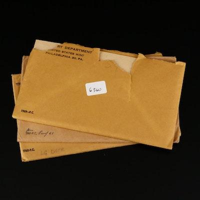 1959, 1960, and 1961 U.S. Mint Proof Sets