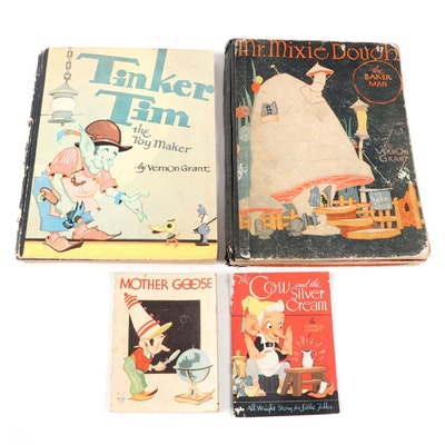 "Vernon Grant Children's Books Including ""Tinker Tim"" and ""Mother Goose"""
