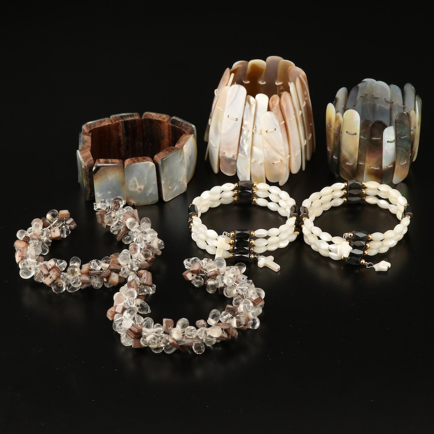Selection of Adjustable and Expandable Bracelets