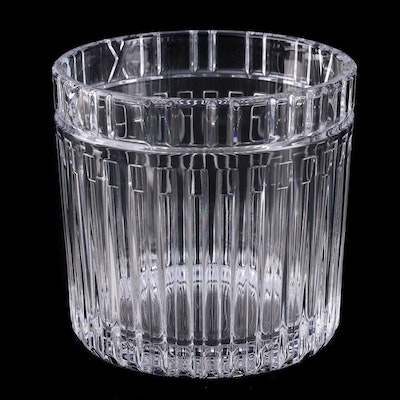 "Tiffany & Co. ""Atlas"" Crystal Champagne Bucket"