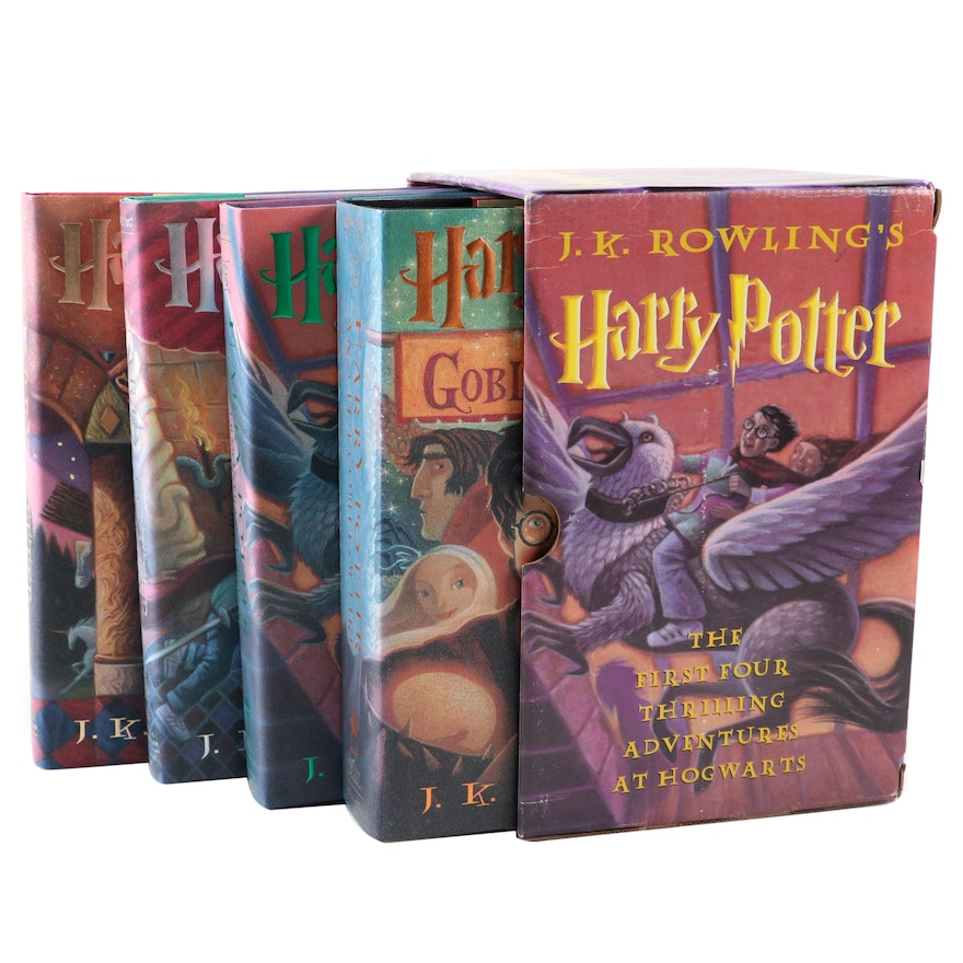 "Partial First American Edition ""Harry Potter"" Series by J. K. Rowling"