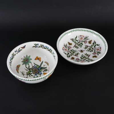 "Portmeirion ""The Botanic Garden"" Ceramic Serveware, Late 20th Century"