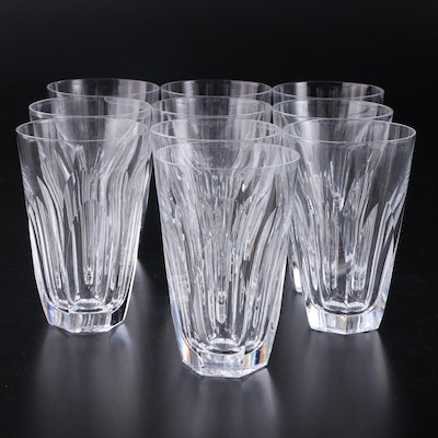 "Waterford Crystal ""Kathleen"" Highball Glasses, Late 20th Century"