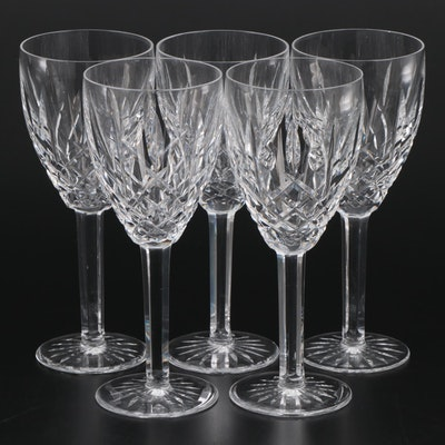"Waterford Crystal ""Araglin"" Water Goblets, Late 20th Century"