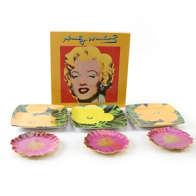 Marilyn Monroe Puzzle with Melamine Plates after Andy Warhol Designs