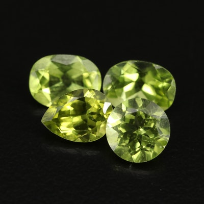 Loose 5.39 CTW Faceted Peridots