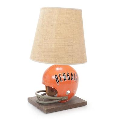 Cincinnati Bengals Helmet Table Lamp