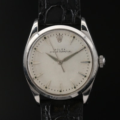 1964 Rolex Oyster Perpetual Stainless Steel Automatic Wristwatch