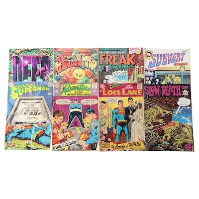 """Superman"", ""Supeman's Lois Lane"", and Other Comics, 1960s - 1970s"
