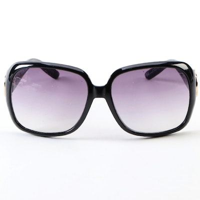 Gucci 3099/S Horsebit Black Square Sunglasses