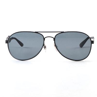 Ray-Ban RB 3549 Matte Black Aviator Sunglasses